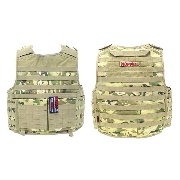 CHALECO NUPROL PMC PLATE CARRIER NP CAMO