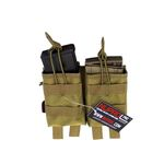 PMC NUPROL POUCH DOUBLE CHARGER G36 TAN