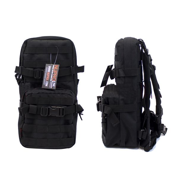 PMC BLACK BACKPACK HYDRATION