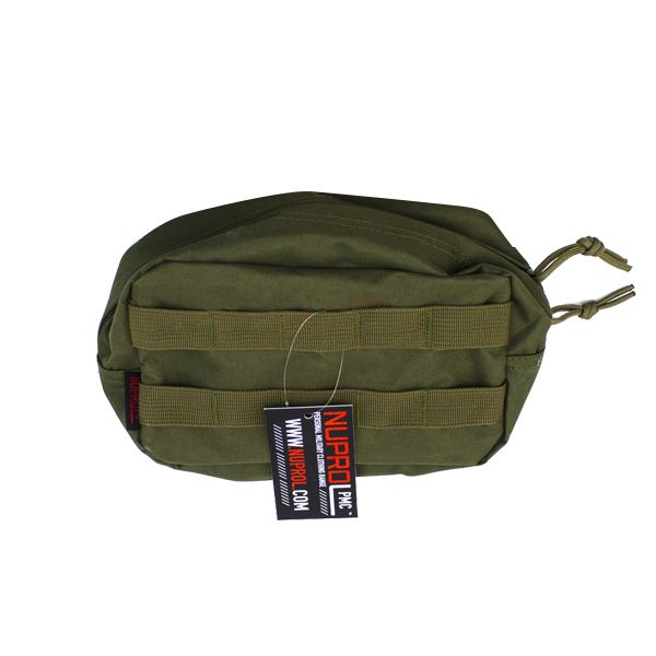 MOLLE MEDICAL POUCH GREEN PMC NUPROL