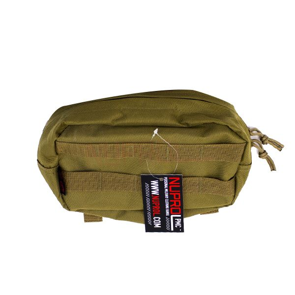 MOLLE MEDICAL POUCH TAN PMC NUPROL