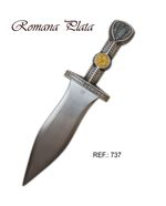 Roman Dagger Silver Finished