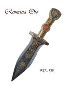 Roman Dagger Gold Finished