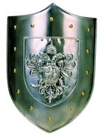Shield Double Headed Eagle