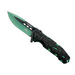 Green Assisted Knife 11674