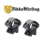 Nikko Stirling Match Mount 3/8 Tube 30Mm Low