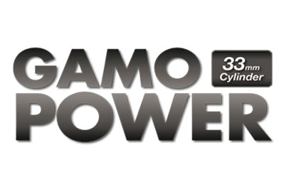 Gas power Technology with 33mm cylinder for gamo airguns
