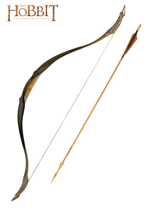Official Replica Legolas arrow and bow from The Hobbit UNITED CUTLERY