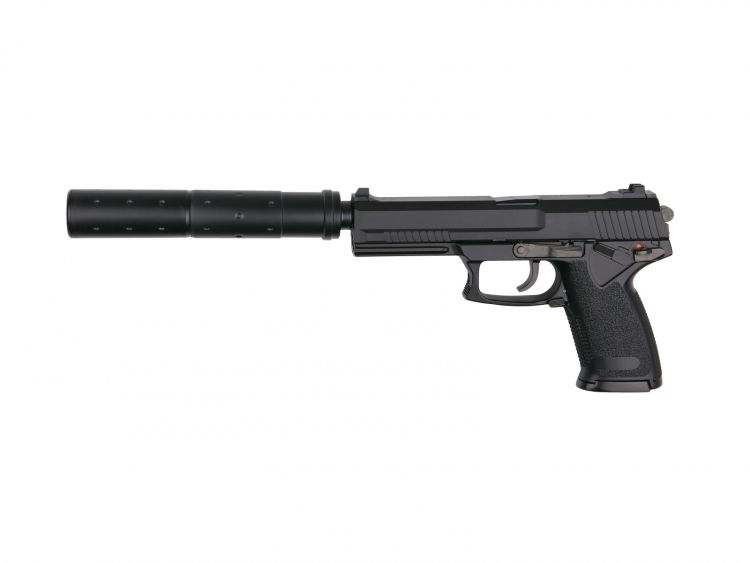 Pistol MK23 Special Operations Black - 6 mm Gas airsoft