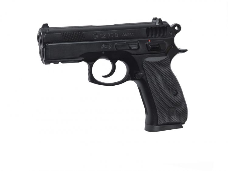 Pistola CZ 75D Compact Negra - 6 mm Co2 airsoft