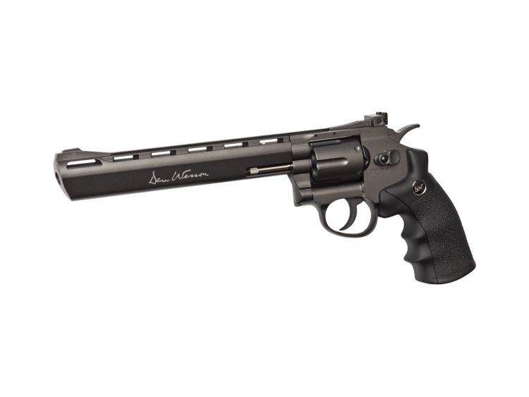 "Revolver Dan Wesson 8"" Gris - 6 mm Co2 airsoft"
