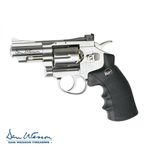"Revolver Dan Wesson 2,5"" Silver - 4,5 mm Co2 Bbs"