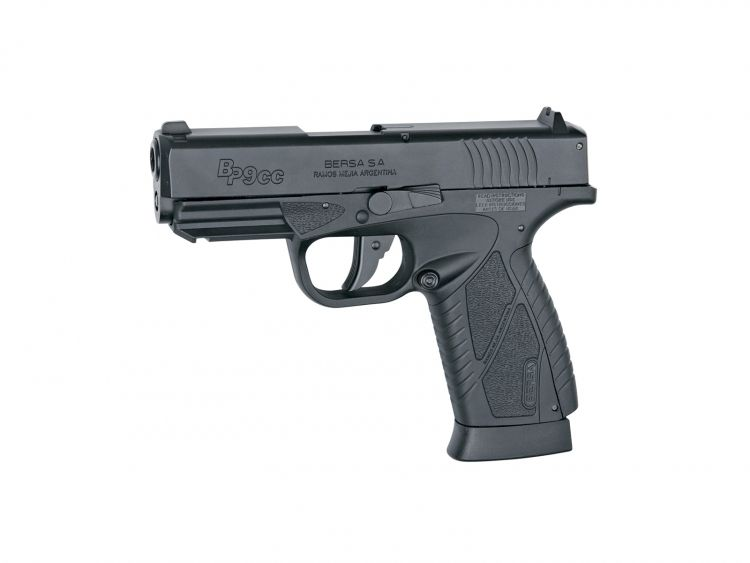 Pistola BERSA BP9CC Blowback - 4,5 mm Co2 Bbs Acero