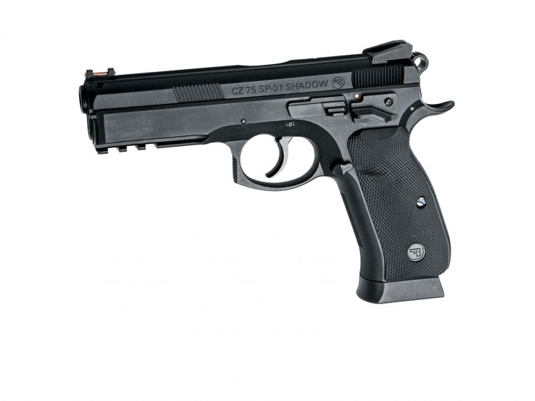 Pistola CZ SP-01 SHADOW - 4,5 mm Co2 Bbs Acero airsoft