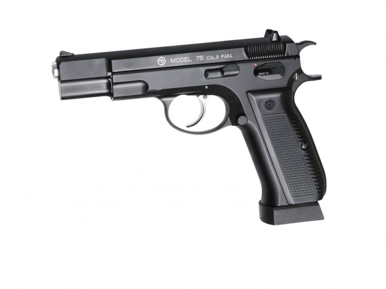 Pistola CZ 75 Blowback - 4,5 mm Co2 Bbs Acero