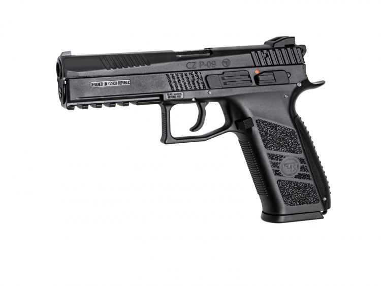Pistola CZ P-09 Negra incluye maletin - 6 mm GBB / Co2 airsoft