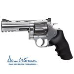 "Revolver Dan Wesson 715, 4"" Silver - 4,5 mm Co2 Balines"