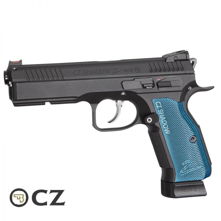 Pistola CZ SP-01 SHADOW II Blow Back Combi Full metal - 6 mm Co2