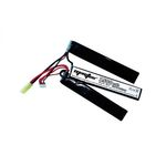 Li-Po battery ZASDAR 11.1 V 1500 mAh 20C - 3 sticks (7 x 21 x 126 mm)