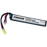 Li-Po battery ZASDAR 11.1 V 1500 mAh 20C - 1 stick (7 x 21 x 126 mm)
