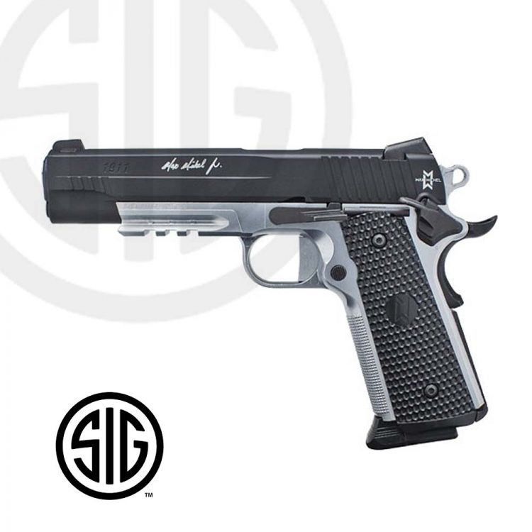 Pistola Sig Sauer Max Michel  CO2 - 4,5 mm BBs Acero