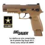 Gun Sig Sauer M17 ASP Coyote CO2 - 4,5 mm Pellets - Blowback