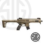 Sig Sauer MPX ASP FDE Co2 submachine gun - 4,5 pellets