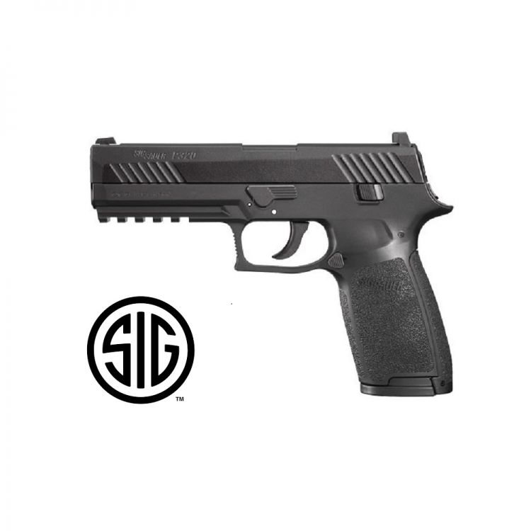 Pistola Sig Sauer P320 Black CO2 - 4,5 mm Balines