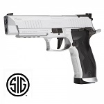 Sig Sauer X-FIVE pistol Silver CO2 - 4.5 mm Pellets - Blowback