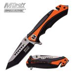 MTech USA Ballistic MT-A950OR penknife with assisted opening.