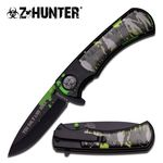 Z-Hunter pocket knife ZB-118BK with assisted opening.