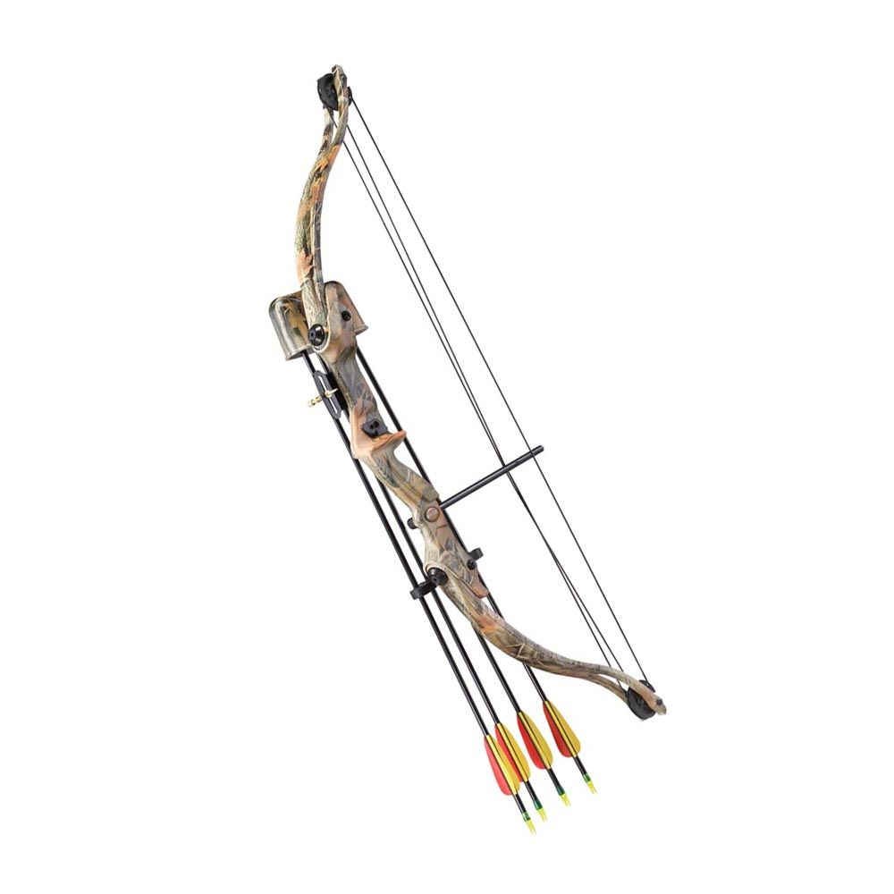 Kit Arco Poleas Junior Camo Star 20 Lbs. 26