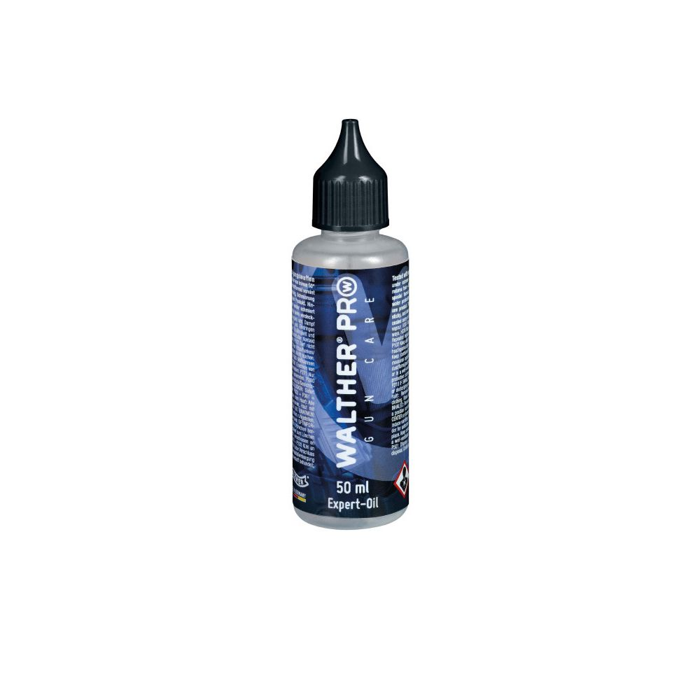 Walther Pro Gun Oil 50 ml Care Expert - botellin
