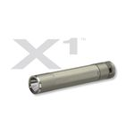 Led flashlight X1 Titanium Body White