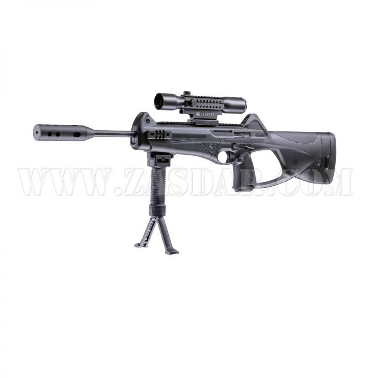 Rifle Beretta CX4 Storm XT moderador Co2 -  4,5 mm balines