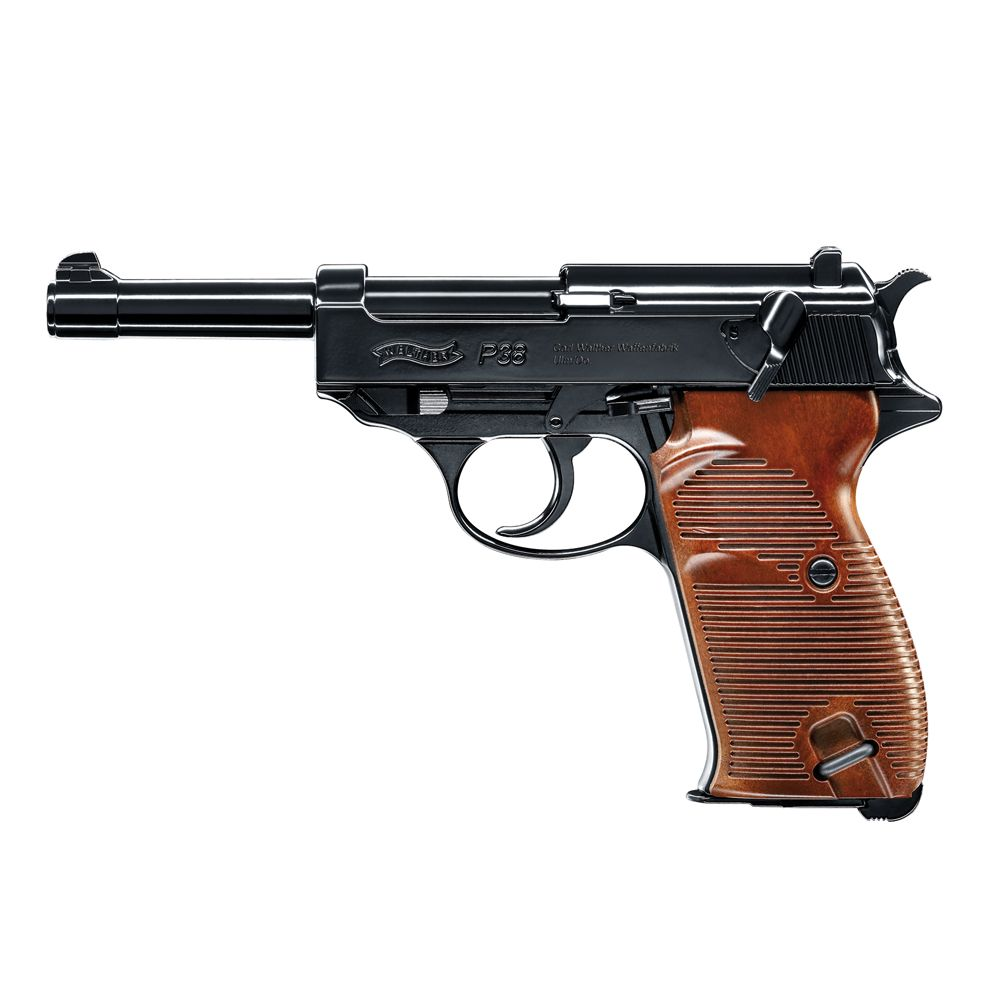 Pistola Walther P38 Co2-  4,5 mm BBs Acero
