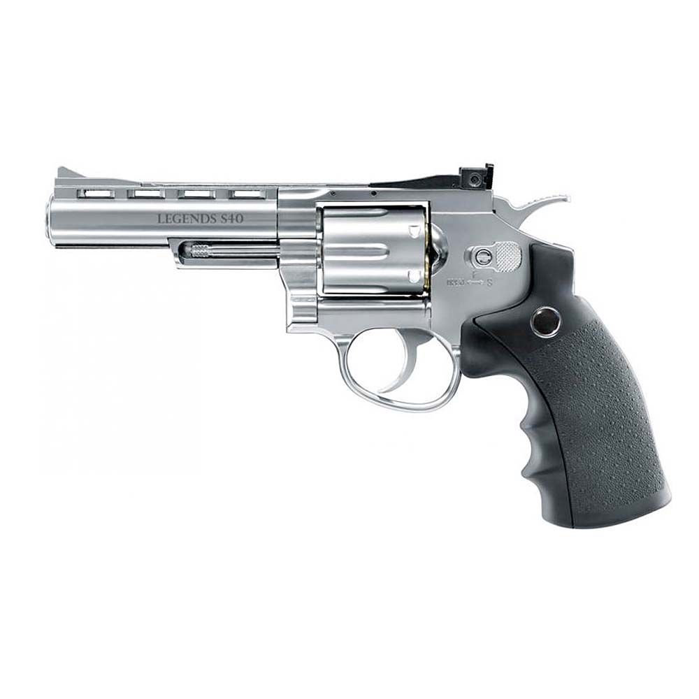Revolver Legends S40 Fullmetal Co2 - 4,5 mm Balines