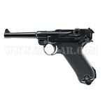 Pistola Legends P08 FM Blowback Co2 - 4,5 mm BBs Acero