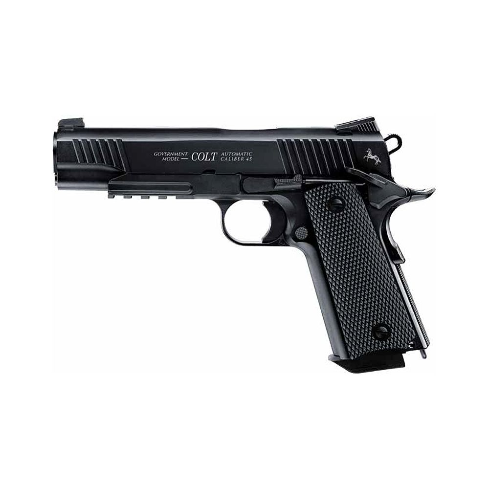 Pistola Colt M45 CQBP Co2 -  4,5 mm BBs Acero