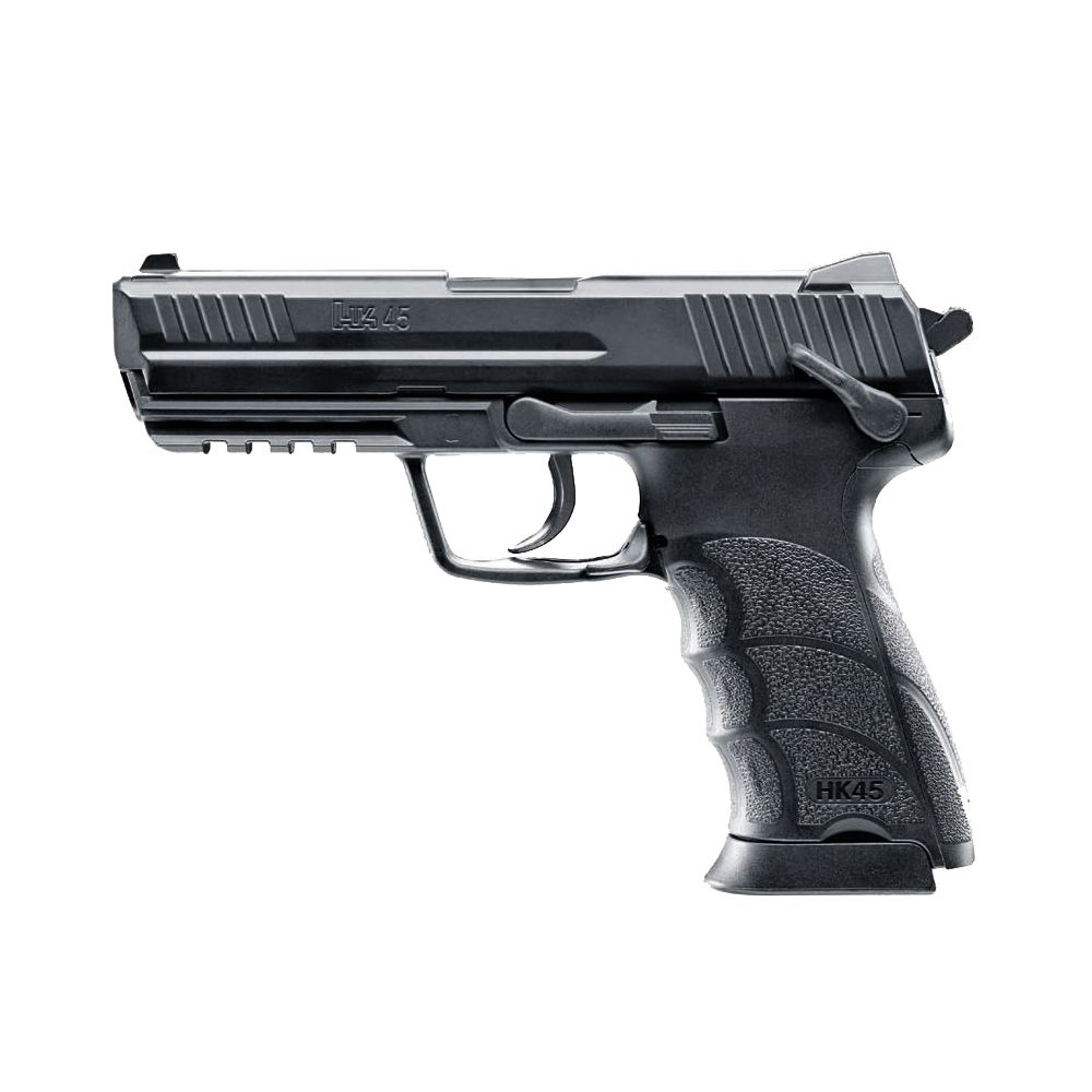 Pistola H&K HK45 Co2 -  4,5 mm BBs Acero
