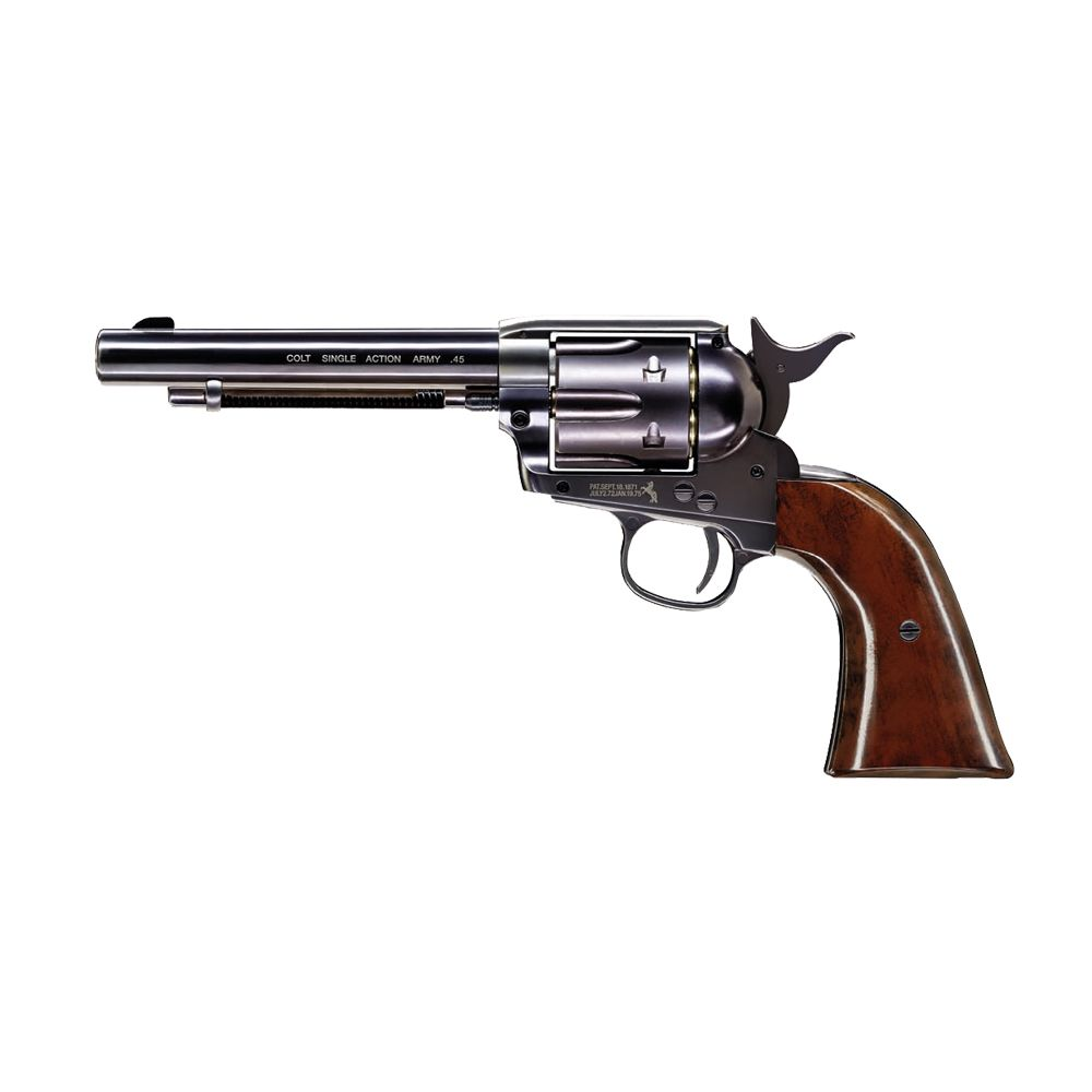 Revolver Colt Peacemaker Negro Single Action Army Co2 -  4,5 mm BBs