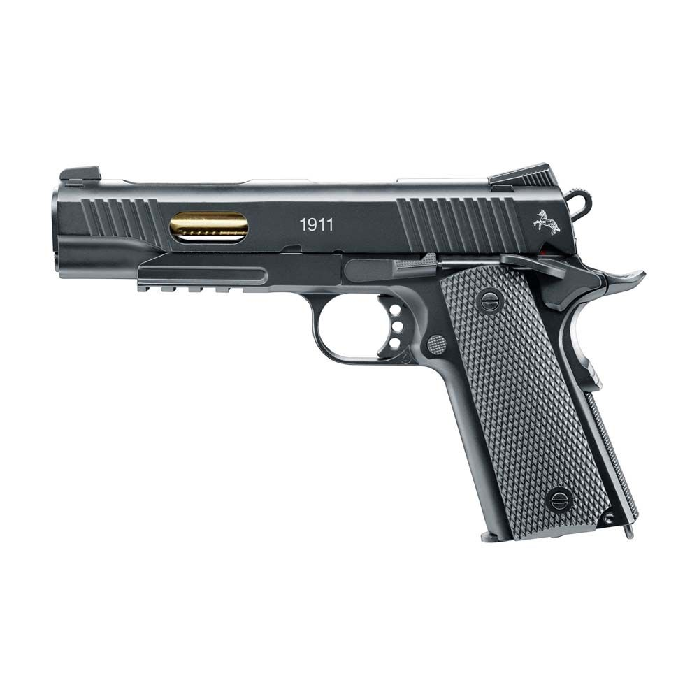 Pistola Colt 1911 Custom Blowback Fullmetal Co2 - 4,5 mm BBs Acero