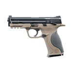 Pistola Smith & Wesson M&P40 TS FDE Blowback Co2 - 4,5 mm BBs Acero