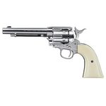 "Revolver Colt SAA .45 Nickel Canyon 5.5"" Co2 - 4.5 mm BBs"