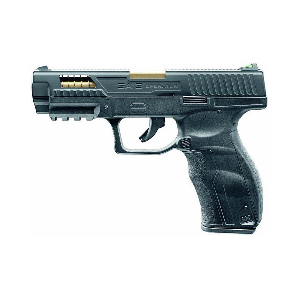 Pistola UX SA9 Operator Edition Blowback Co2 - 4,5 mm BBs Acero
