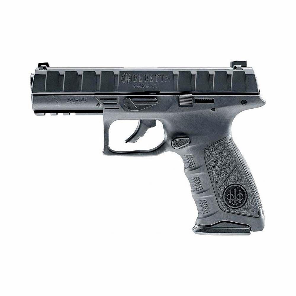Pistola Beretta APX Blowback Negra Co2 - 4,5 mm BBs Acero