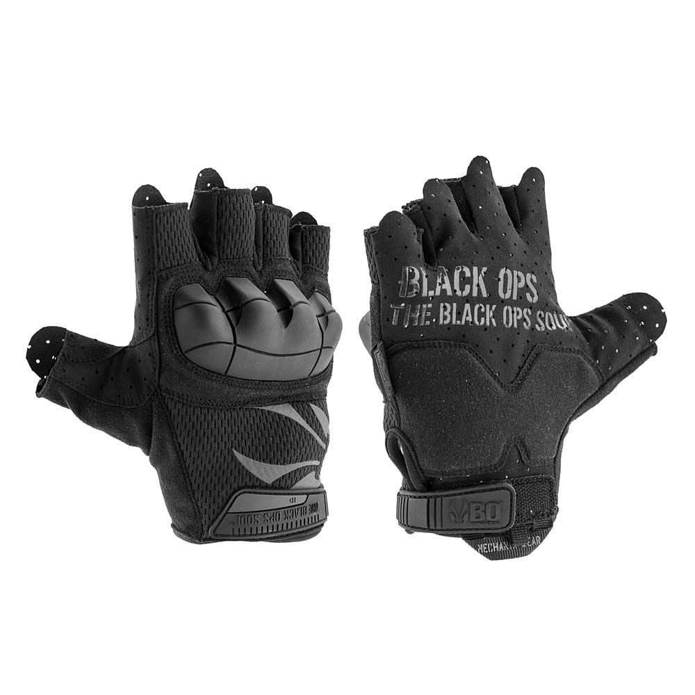 Guantes Black OPS Mechanix MTO Fighter Negro talla XL