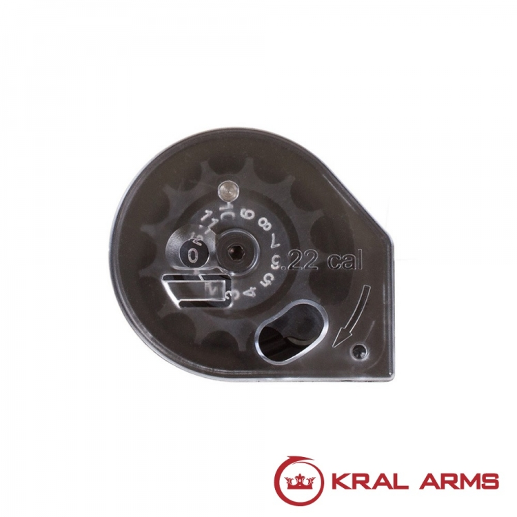 KRAL charger for PCP Rifles cal. 5.5 mm