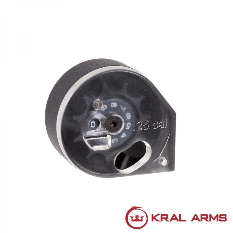 KRAL charger for PCP Rifles cal. 6.35mm