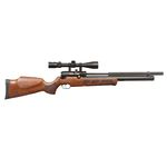 Carbine PCP KRAL Wood Silent Evo 6.35mm - 24 Joules with sound suppressor